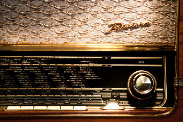 Kielikulma: radiosanastoa arjessamme