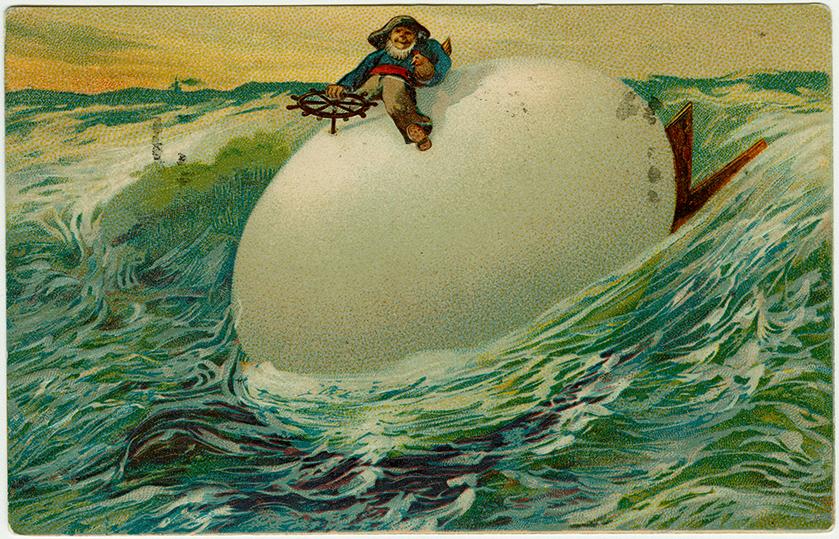 Pääsiäismuna taipuu moneen muotoon – korttitaiteilijoiden mielikuvitus on ihailtavaa