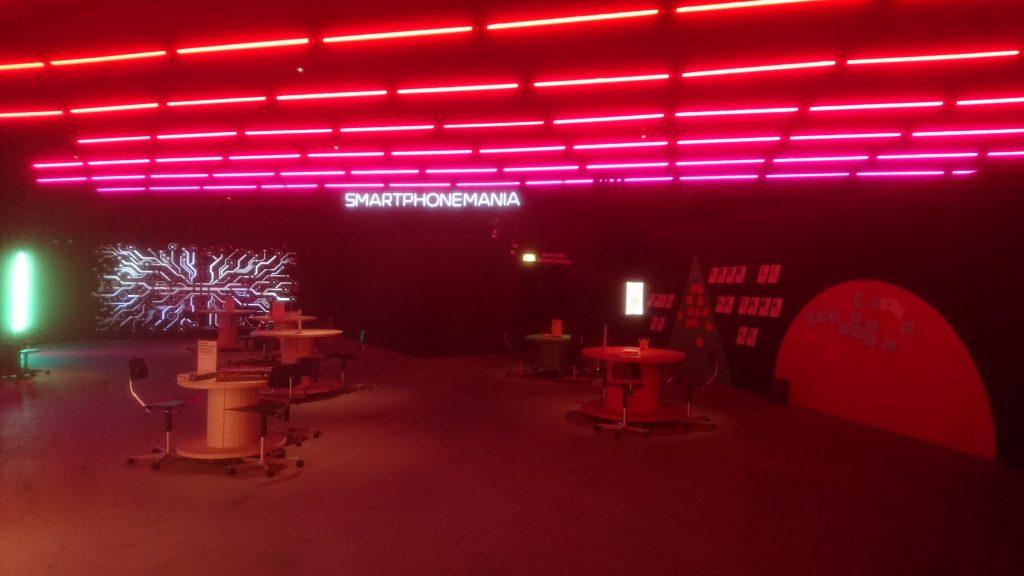 Kuva Smartphonemania-näyttelystä
