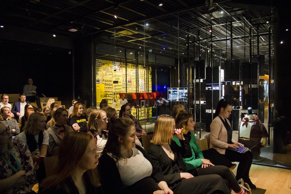 Nuorten pohjoismaisten toimittajien seminaari Päivälehden museoss