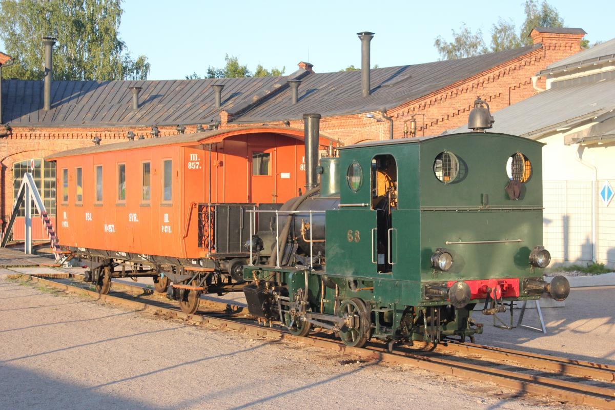 Hyppää museojunan kyytiin ja näe höyryveturit Rautatiemuseopäivänä 11.8.2019!